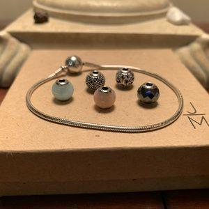 Pandora Essence Bracelet with Charms🌸